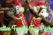 New Disney World Festive Family Fun Package Now Available