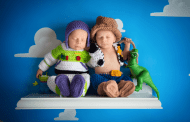 This Toy Story Twin Photo Shoot is to Infinity and Beyond Adorableness!
