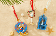 Disney Sketchbook Ornaments Deck The Halls For Christmas In July