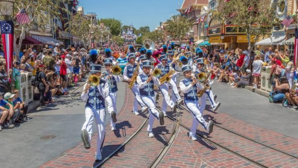 Mickey and Friends Band-Tastic Cavalcade Now At Disneyland