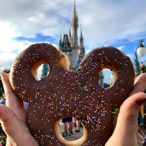 Mickey Celebration Donut Remians in Magic Kingdom at New Location