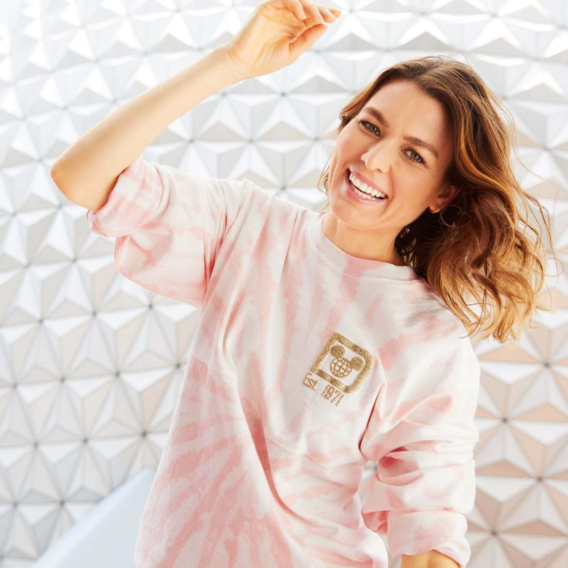 The Tie-Dye Rose Gold Spirit Jersey Shines Brightly For Summer