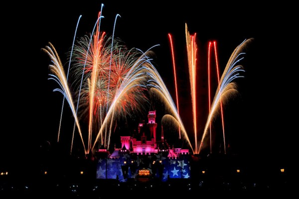 4th of july disneyland