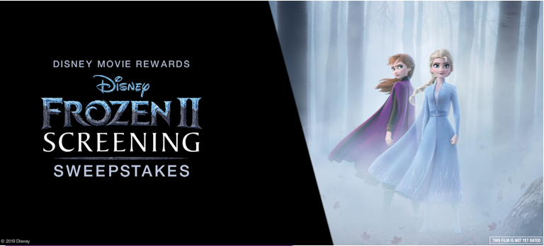 Frozen 2 Ultimate Fan Experience Sweepstakes