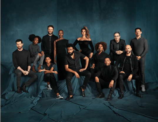 Full Cast Photo From Disney's The Lion King