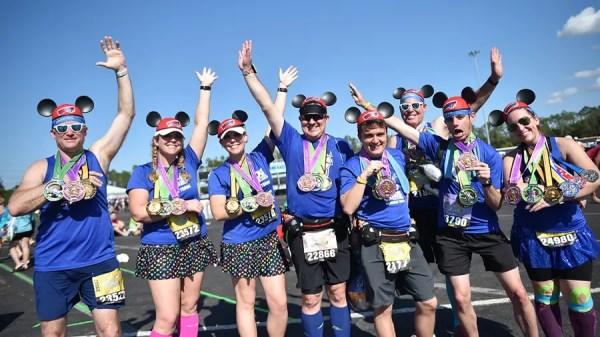 2020 Walt Disney World Marathon Weekend Finisher Medals Revealed