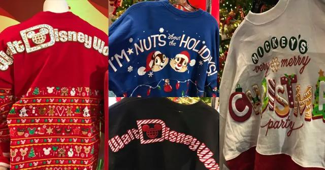 Holiday Disney Spirit Jerseys