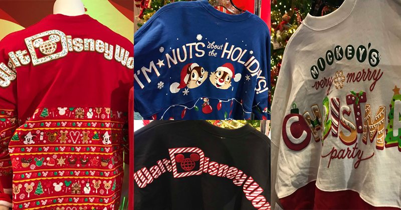 Holiday Disney Spirit Jerseys