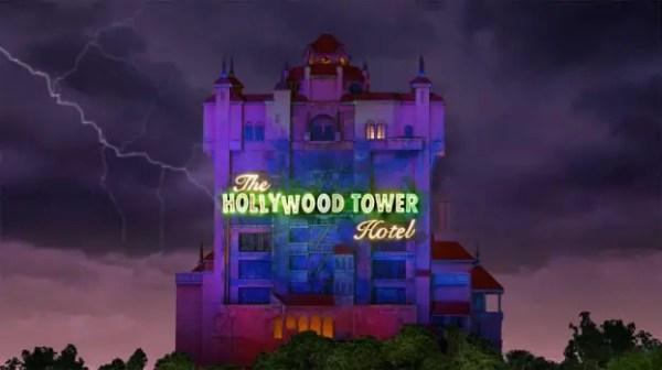 Tower of terror magic shot