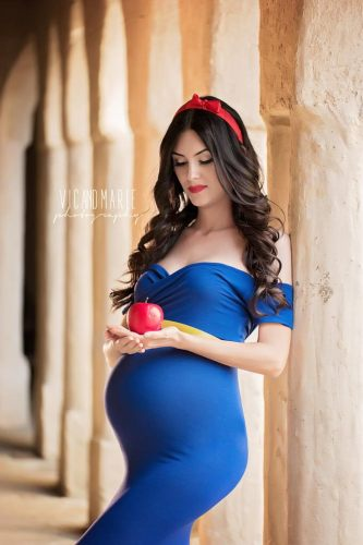 Photography Couple Coordinated Disney Princess Inspired Maternity Shoot 2