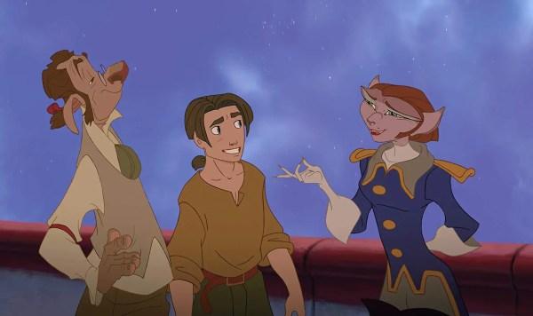 Disney Rumored To Make Live-Action 'Treasure Planet' 3