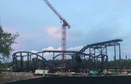 CONSTRUCTION UPDATE: TRON Coaster in Magic Kingdom