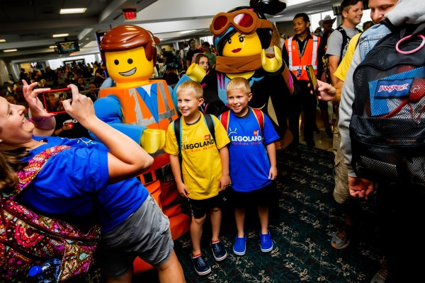LEGOLAND Florida Resort and Frontier Airlines Surprise Passengers with Free Theme Park Admission and Flight Vouchers 1