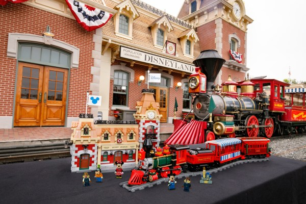 All new Disney Train and Station from LEGO coming Sept 1st! 2