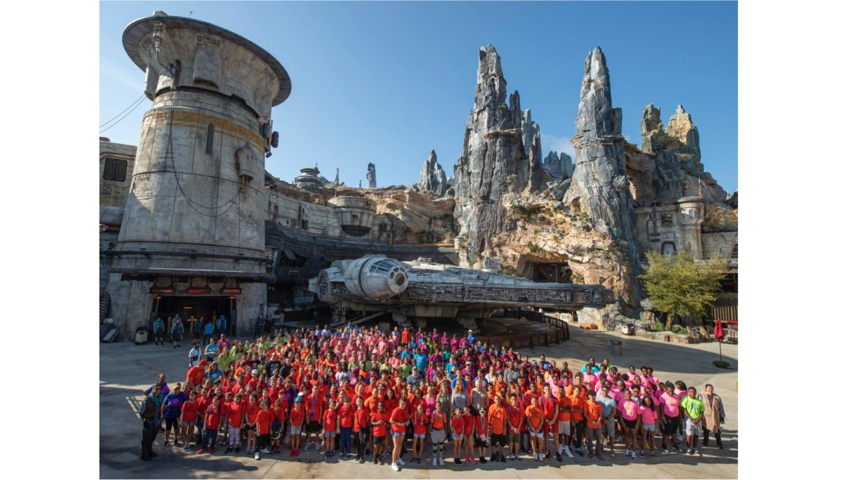 Boys & Girls Club Gets First Look at Disney's Star Wars Galaxy's Edge