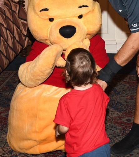 Winnie the Pooh Delighted Pass-holders At Epcot 2