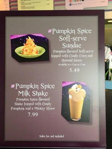 Snacks and Treats from Mickey's Not So Scary Halloween Party 2