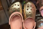 Rose Gold Mickey Crocs Add Magical Style To Your Feet
