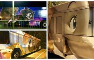 New Disney Character Buses Spotted, Dumbo And Guardians Of The Galaxy!