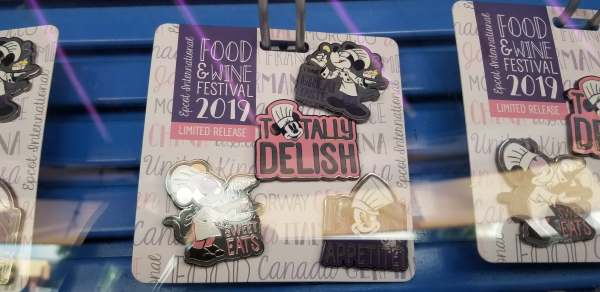 2019 Epcot Food and Wine Festival Pins Released!
