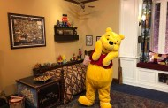 Winnie the Pooh Delighted Pass-holders At Epcot