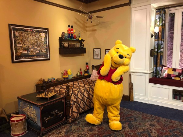 Winnie the Pooh Delighted Pass-holders At Epcot 1