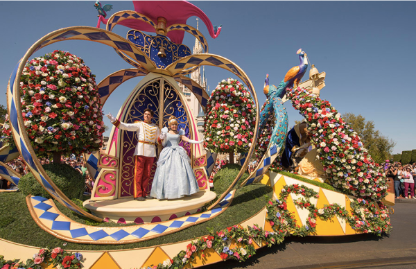Festival of Fantasy Parade Starts at 2 pm from August 16th 1