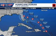 Wet Weather Could Be Ahead With Tropical System Dorian On The Way