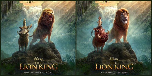 Disney Fan Reanimates Live Action The Lion King Characters