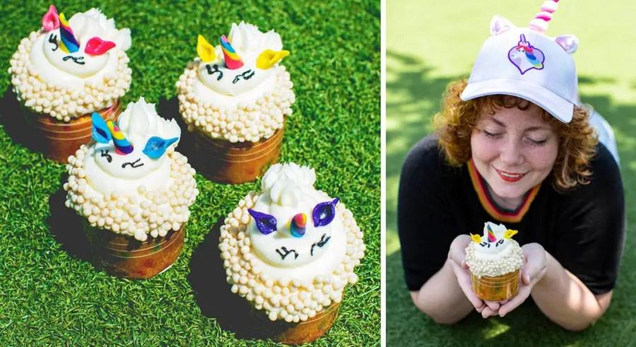 New Rainbow Unicorn Cupcake in Walt Disney World