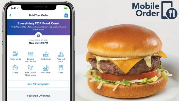 Mobile Ordering expanding to select Disney World Hotels