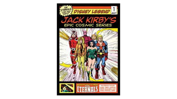 New Experience Now Open at Disney's Hollywood Studios Featuring Jack Kirby's Cosmic Series 'The Eternals'