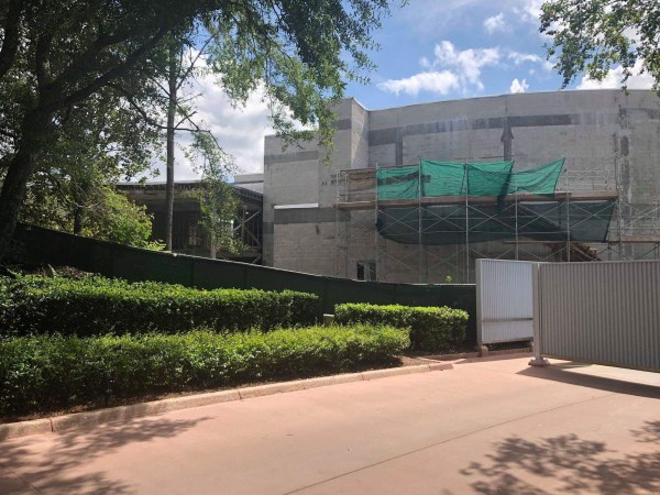 Construction For New Out Of This World Dining Experience Coming To Epcot 1