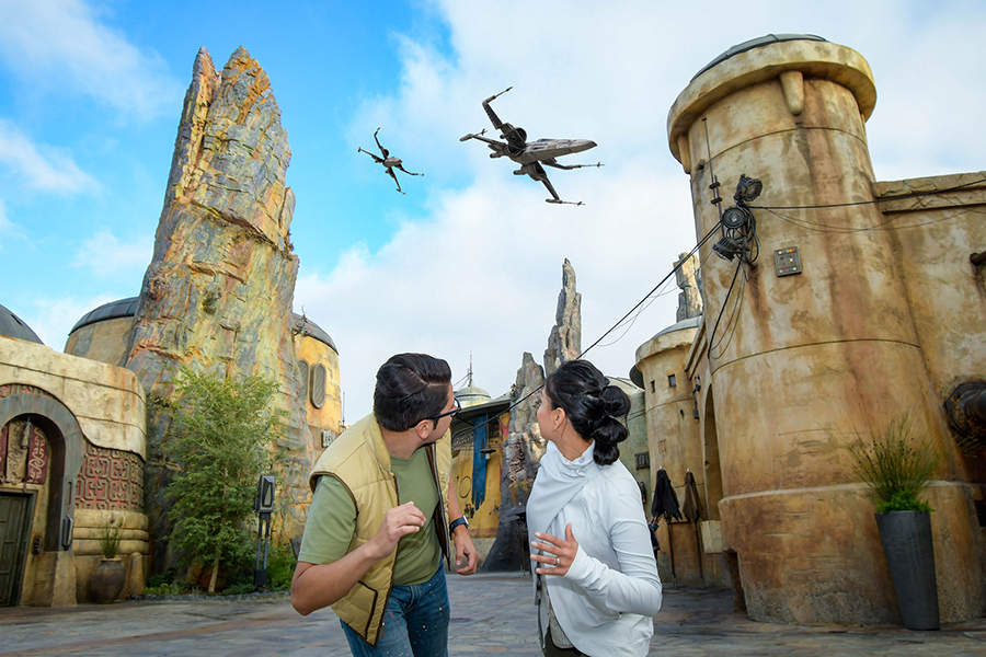 Magic Shot Photos At Galaxy's Edge
