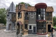 Magical Grandparents Built 350sqft Harry Potter Themed Playhouse for Grandchildren