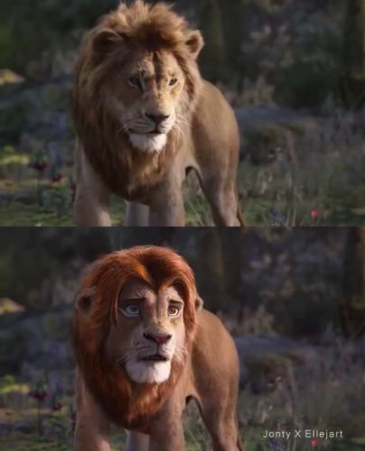 Disney Fan Reanimates Live-Action 'The Lion King' Characters to Look More Like the Original Film 9