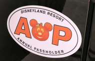 New Halloween themed Disneyland Annual Passholder Magnet coming soon