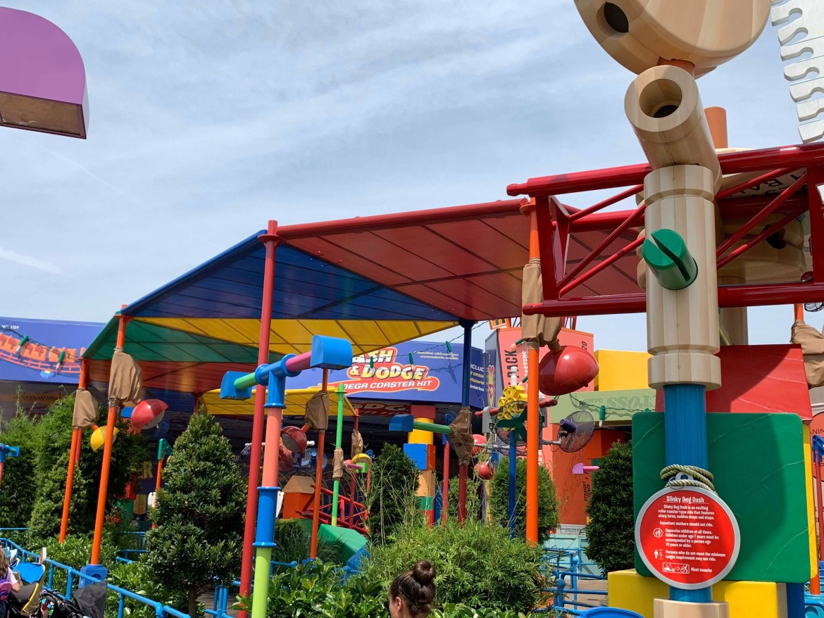 Toy Story Land's Slinky Dog Dash Just Got A Whole Lot Cooler