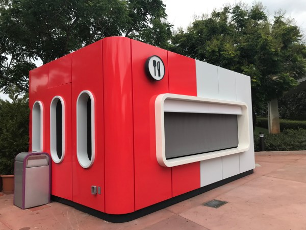 Epcot's New Donut Box Booth Has Replaced Taste Track 2