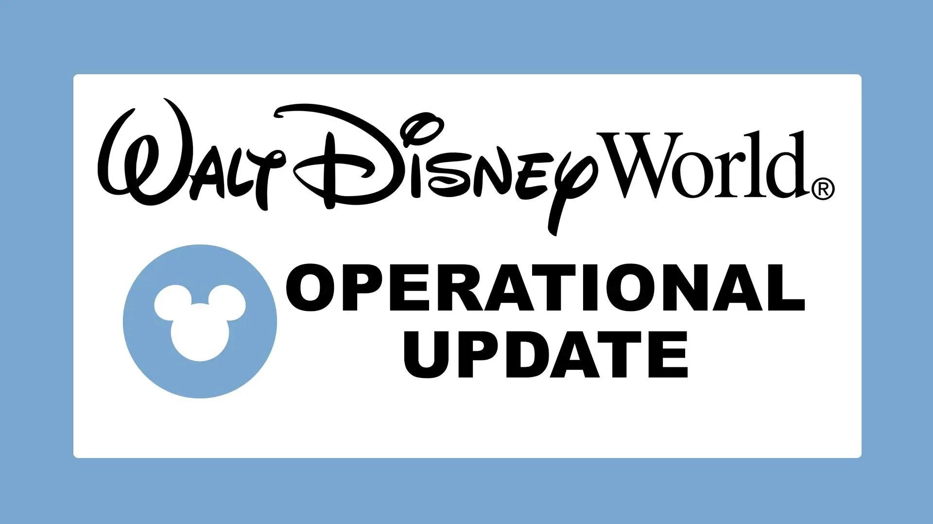 Walt Disney World Resort will resume operations on Sept  4th