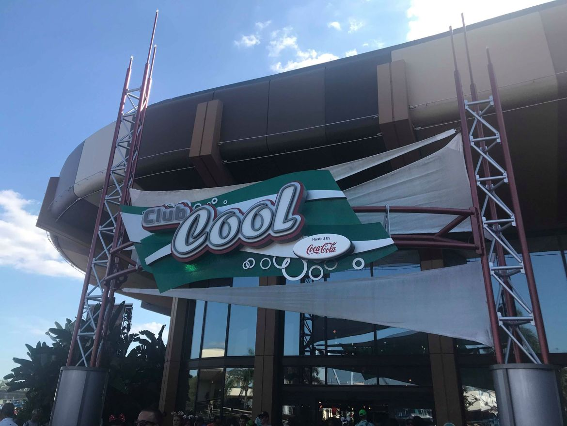 Club Cool in Epcot is closing today