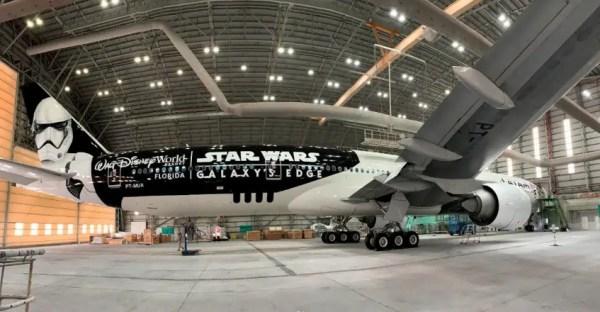 LATAM unveils new Star Wars Galaxy's Edge Inspired Plane 2