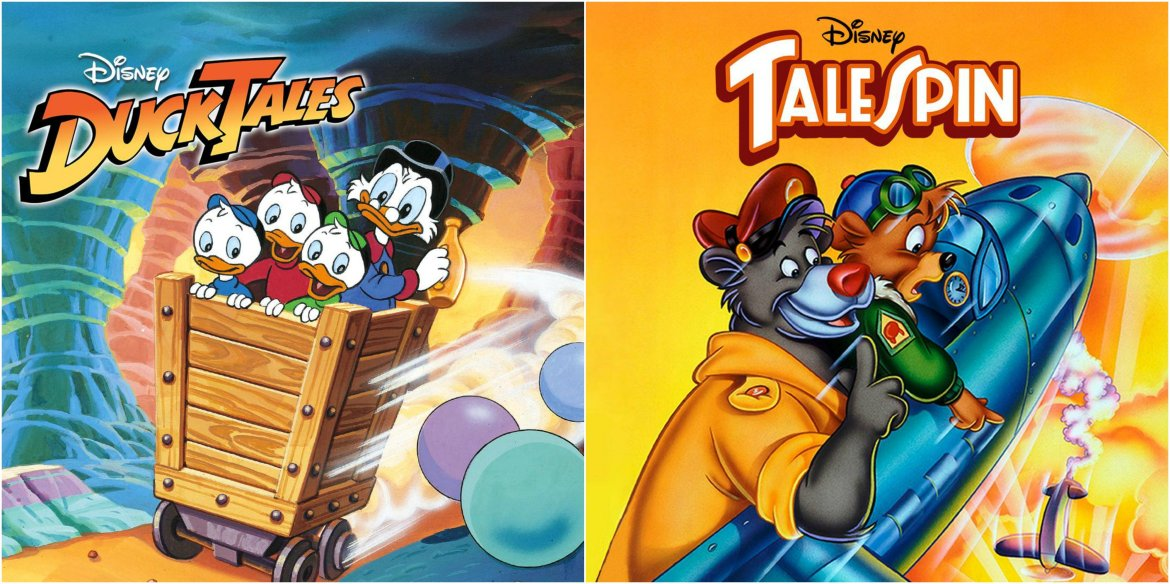 DuckTales, Chip 'n Dale Rescue Rangers, TaleSpin, and Darkwing Duck Coming to Disney+