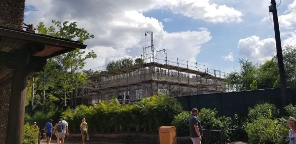 Photos: Club 33 Construction at Animal Kingdom Underway