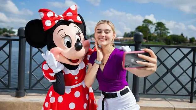Meg Donnelly Kicks Off Disney Du Jour Dance Party in Epcot
