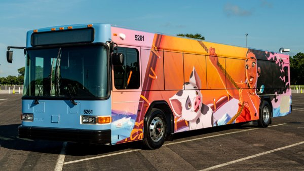 Disney rolling out even more new bus designs at Walt Disney World 4