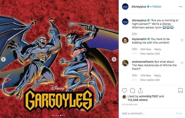A Disney Original Gargoyles Headed to the List of Disney+ Lineup