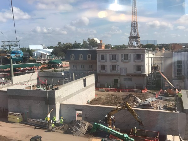 Photos: Update on Epcot's Remy Ratatouille Adventure Ride