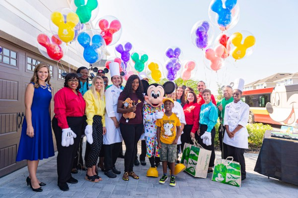 Herman Bell Surprised with WDW Vacation After Using Vacation Money for Hurricane Evacuees