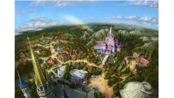 New Enchanted Tale of Beauty and the Beast coming to Tokyo Disneyland 1